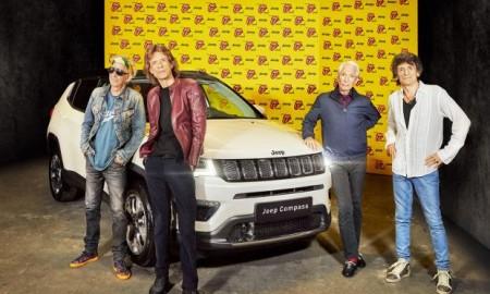 Jeep ponownie na scenie z The Rolling Stones