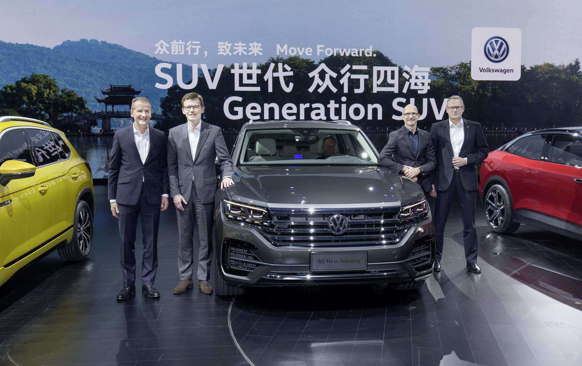 Premiera nowego Volkswagena Touarega
