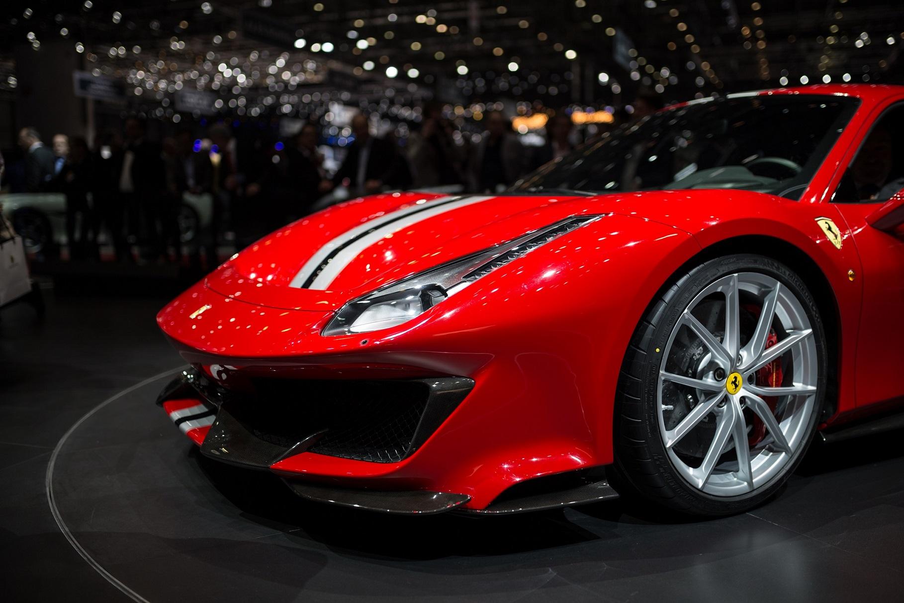 Ferrari 488 Pista na oponach Michelin Pilot Sport Cup 2