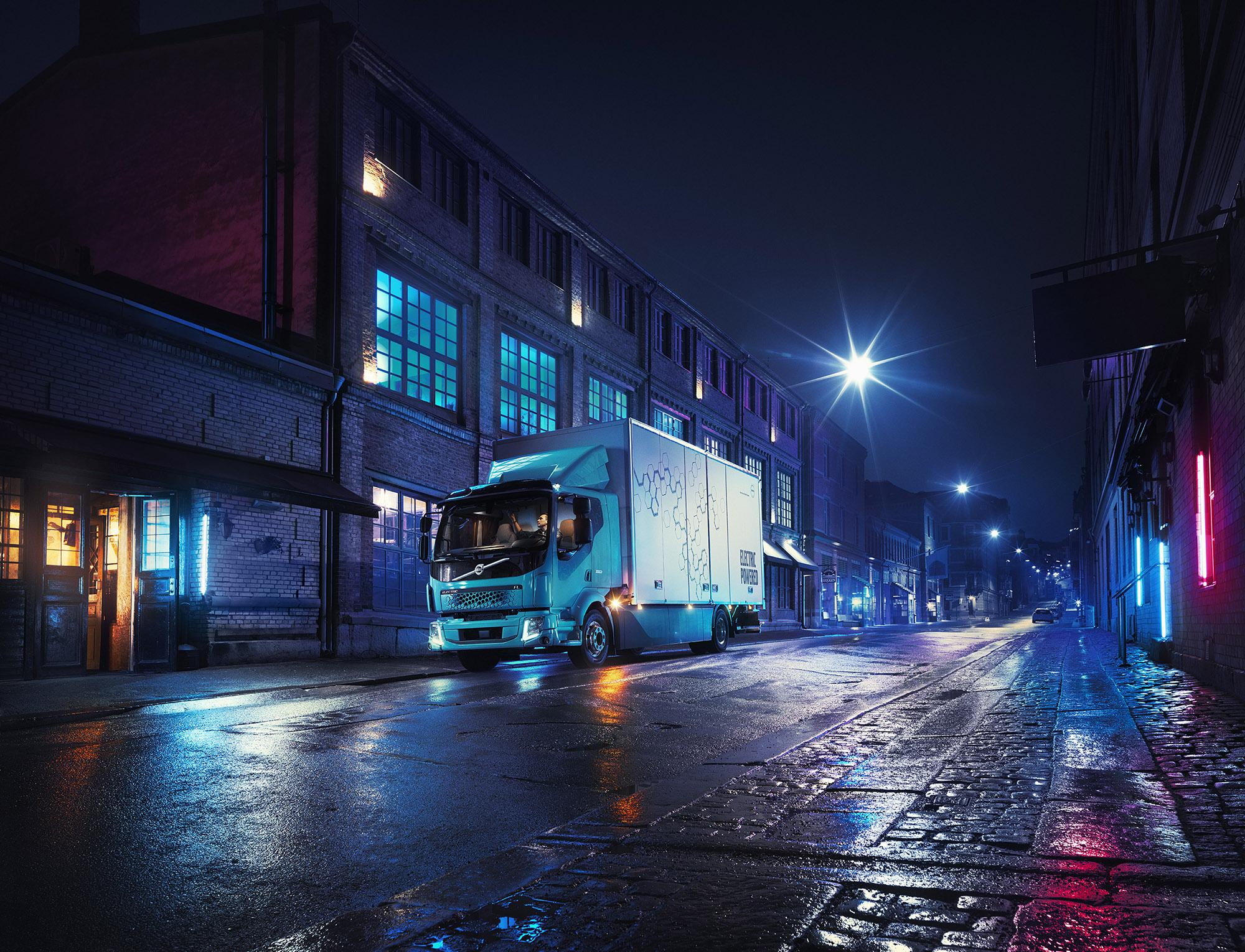 Premiera pierwszej elektrycznej ciężarówki Volvo