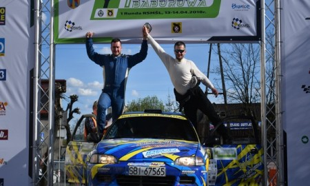 Rajd Baborowa - pierwsze zwycięstwo Damiana Kostki