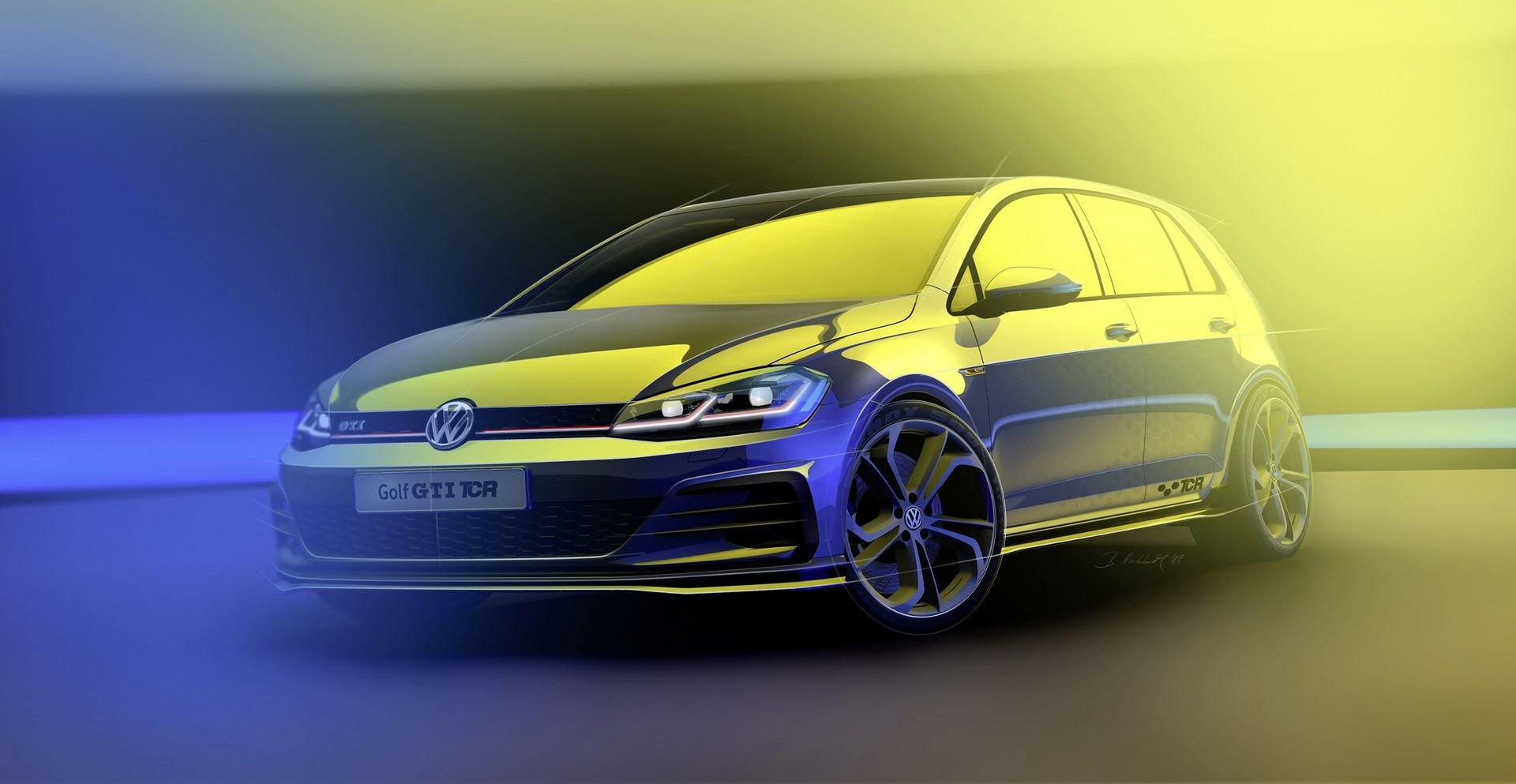 VW Golf GTI TCR – Premiera nad Wörthersee