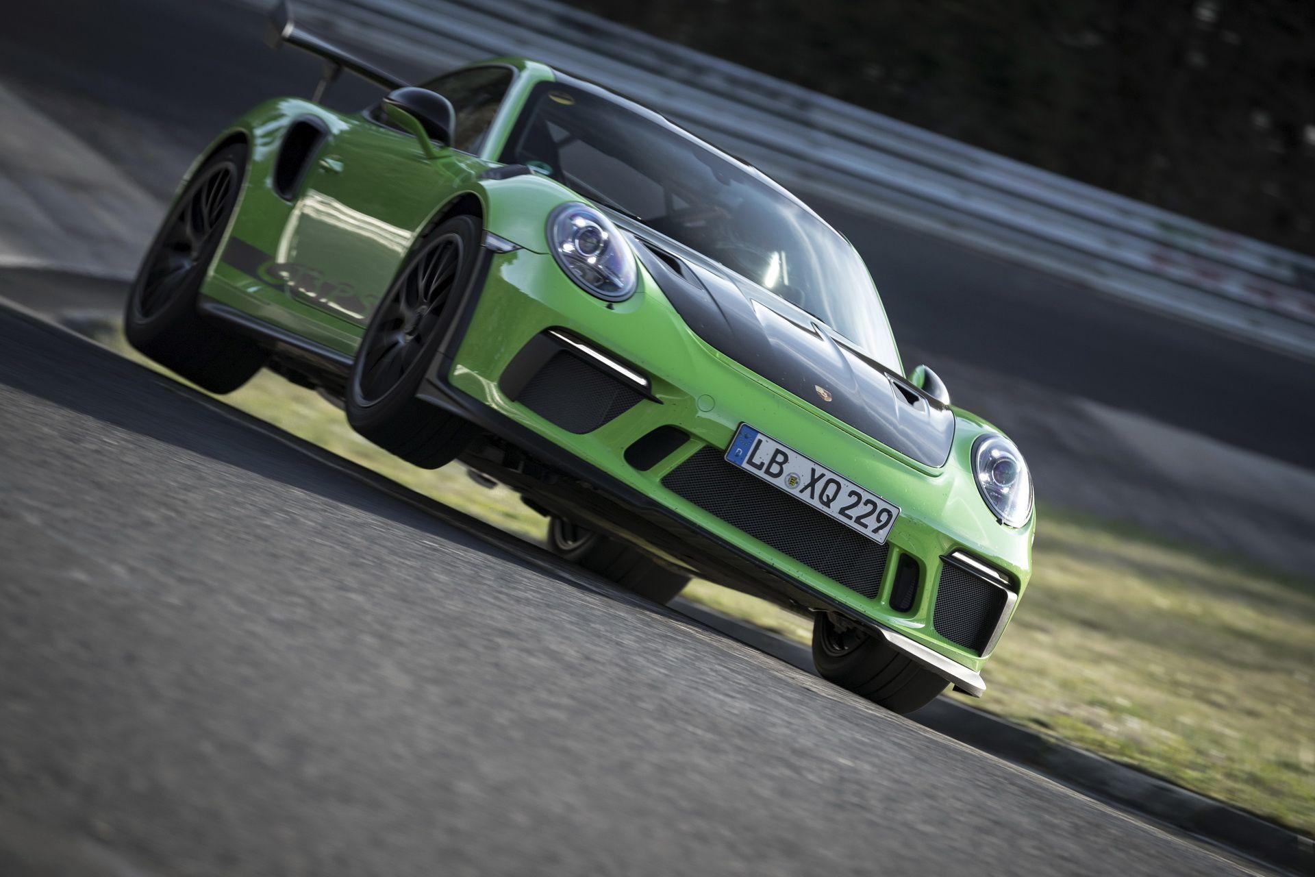 Porsche 911 GT3 RS z nowym rekordem
