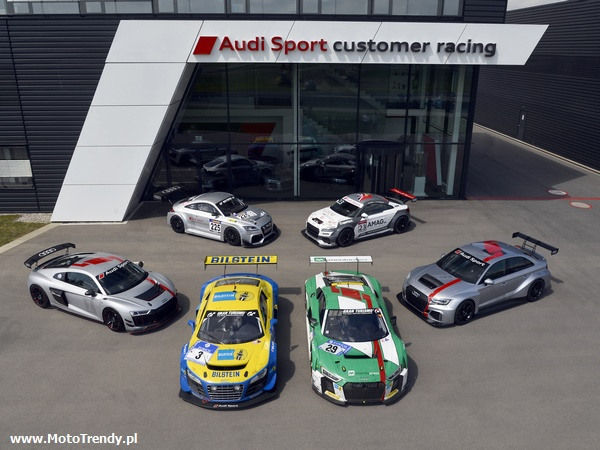Dziesięć lat Audi Sport customer racing