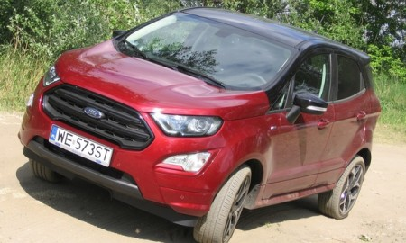 Ford EcoSport 1.0 EcoBoost ST- Line - Debiut z opóźnieniem