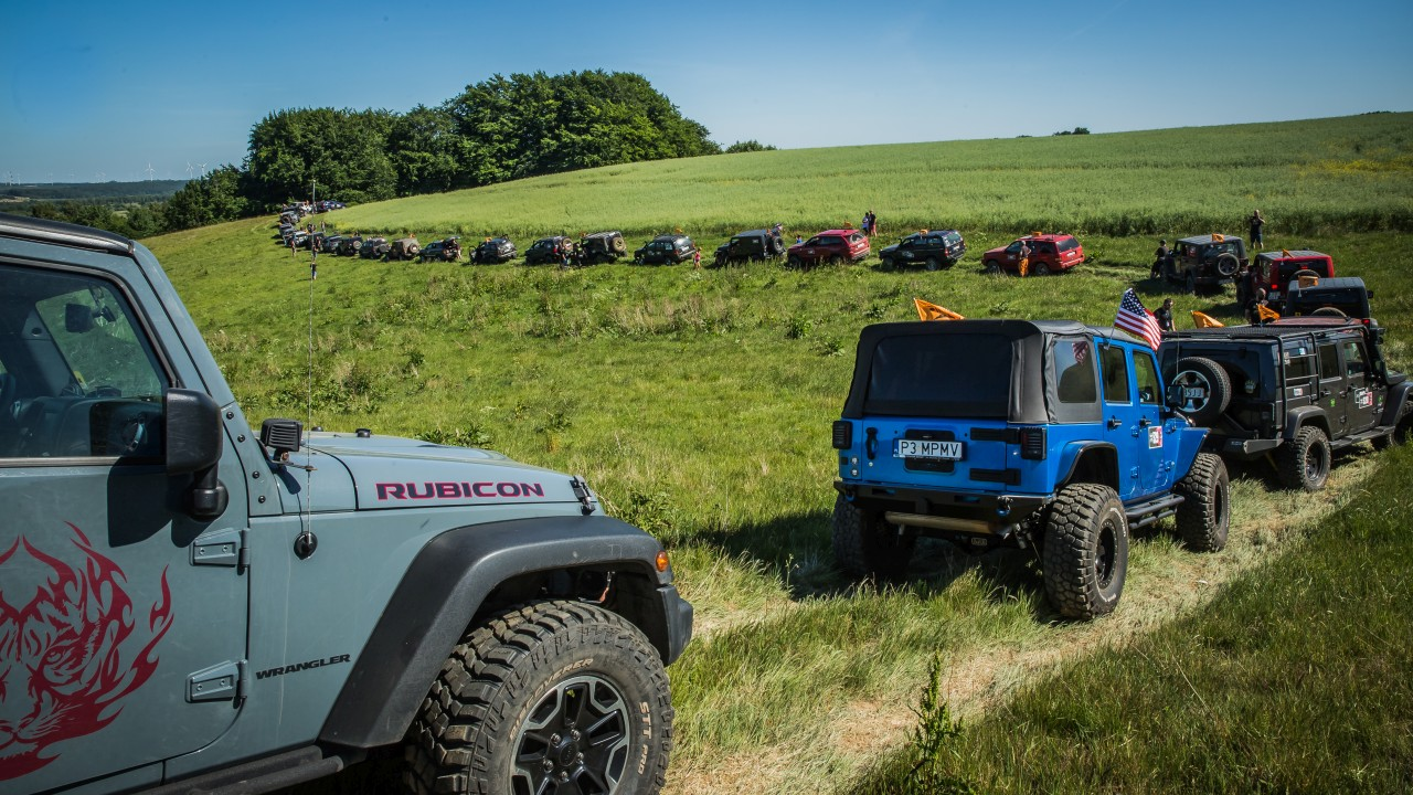Nowy Jeep Wrangler Unlimited na Camp Jeep PL 2018