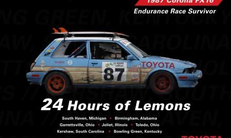 Niezniszczalna Corolla AE82 w wyścigu LeMons 24h