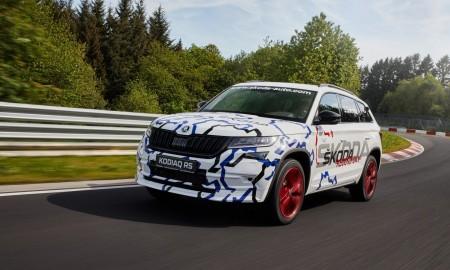 Skoda Kodiaq RS z rekordowym czasem okrążenia na Nürburgringu
