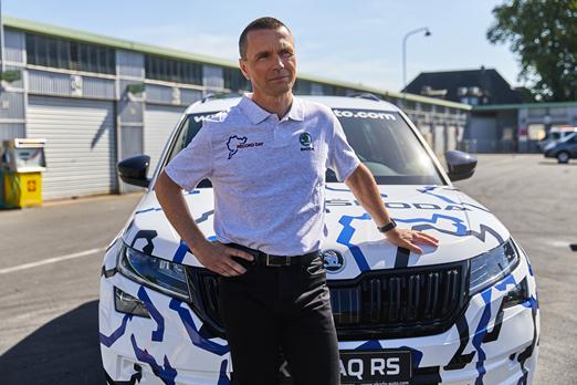 """František Drábek o modelu Kodiaq RS - """"Ludzie pokochają ten samochód"""""""