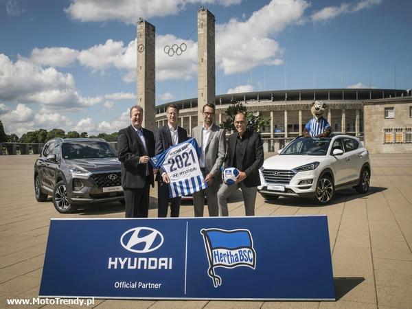 Hyundai Globalnym Partnerem Motoryzacyjnym klubu Hertha BSC