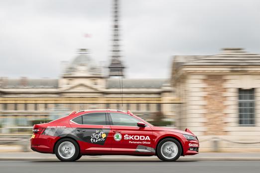 Skoda po raz piętnasty partnerem Tour de France
