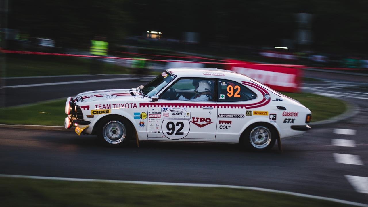 Toyota z początków WRC w Rajdzie Śląska