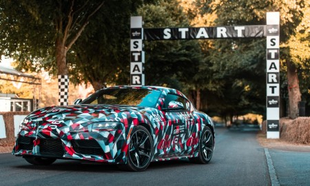 Toyota Supra zadebiutowała na Goodwood Festival of Speed