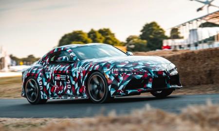 Toyota Supra 2019 w dwóch wersjach silnikowych?