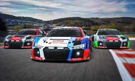 Audi w 24-godzinnym wyścigu w Spa