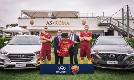 Hyundai partnerem klubu AS Roma