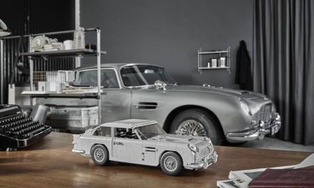 Aston Martin DB5 agenta 007 od LEGO