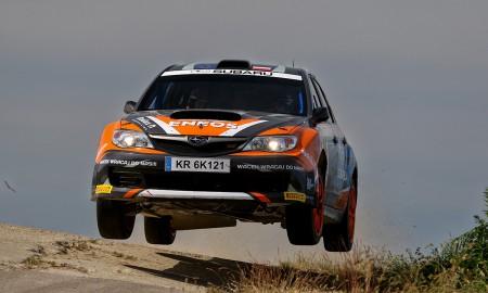 Dwie załogi Subaru Poland Rally na Rajdzie Rzeszowskim