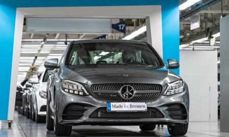 Mercedes Klasa C z fabryki w Bremie
