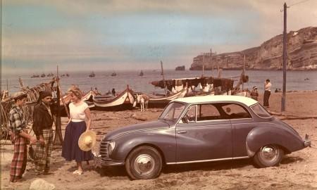 Lato, samochód i urlop - wystawa w Audi museum mobile