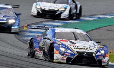 Podwójne podium dla Lexusa w wyścigach GT500