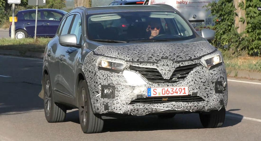 Renault Kadjar przyłapany podczas testów