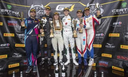 Polka na podium piątej rundy mistrzostw GT4 European Series