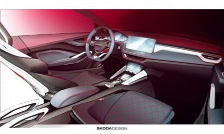 Skoda Vision RS zaprasza do wnętrza