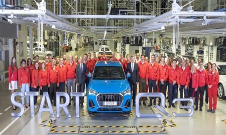 Rozpoczęcie produkcji Audi Q3 w fabryce w Győr
