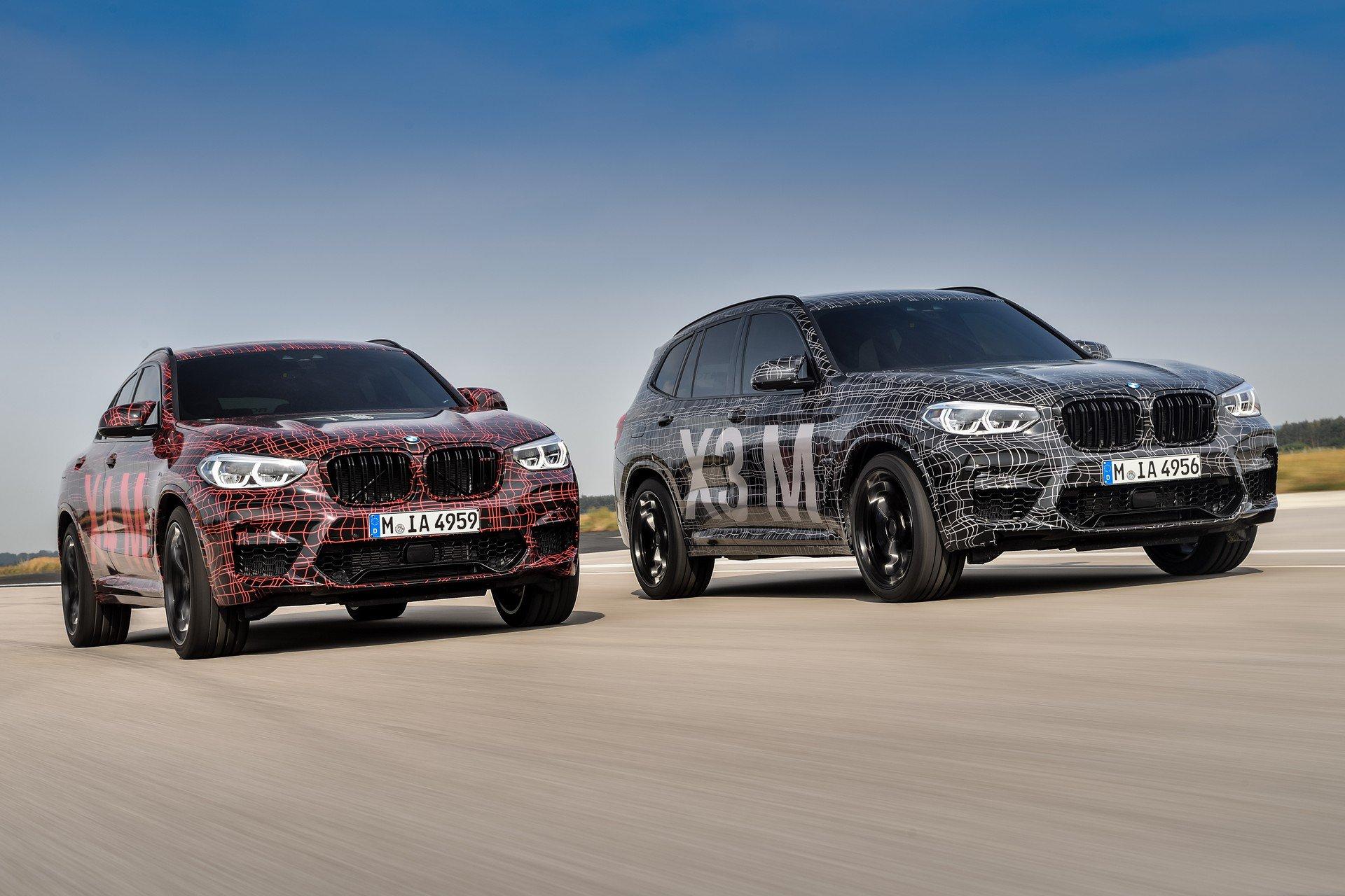 BMW X3 M i BMW X4 M - Rozgrzewka na Nürburgringu