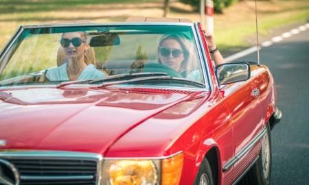 Zlot zabytkowych Mercedesów tylko dla kobiet