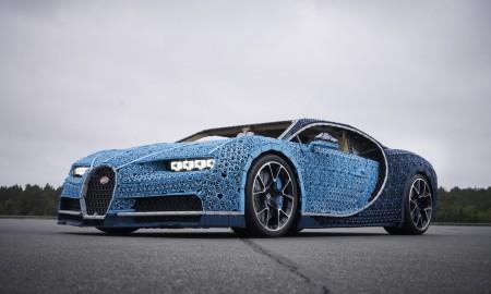 Bugatti Chiron z klocków LEGO w skali 1:1