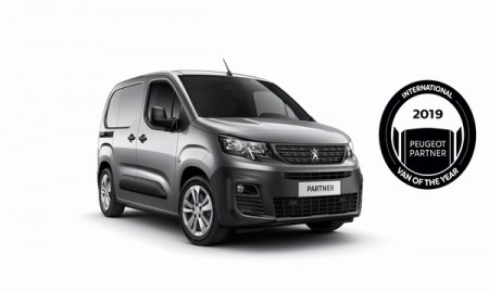 Peugeot Partner - International Van of the Year 2019