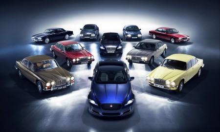 Jaguar świętuje 50 rocznicę modelu XJ