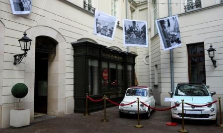 """Fiat 500 i wystawa """"Włoskie Pranie"""""""