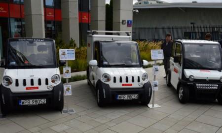 Poczta Polska testuje elektryczne pojazdy