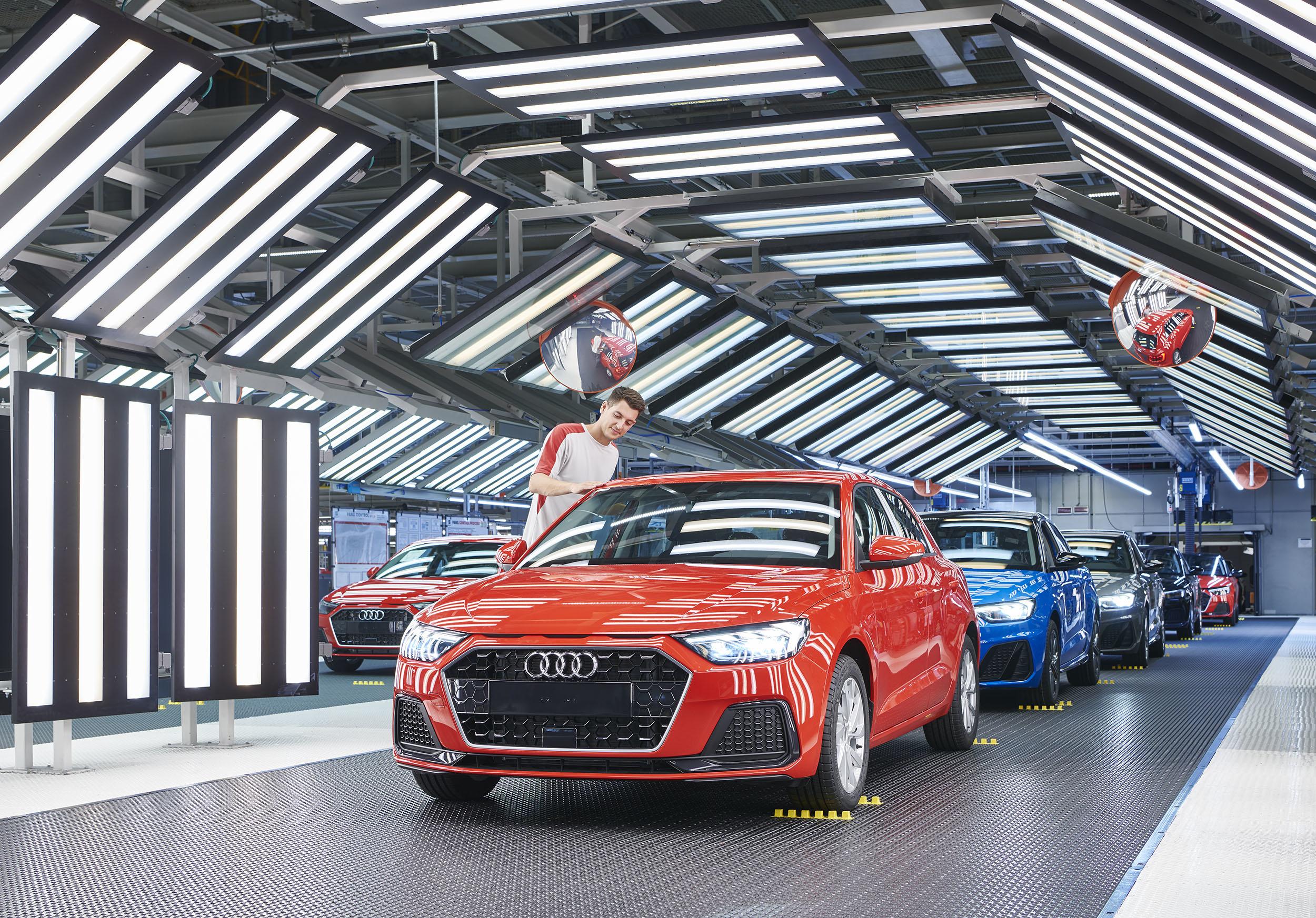 W fabryce Seata w Martorell ruszyła produkcja Audi A1
