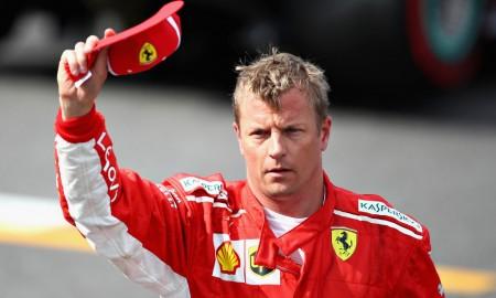 Kimi Räikkönen w barwach zespołu Alfa Romeo Sauber F1