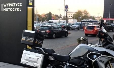 Pierwsza w Polsce bezobsługowa wypożyczalnia motocykli
