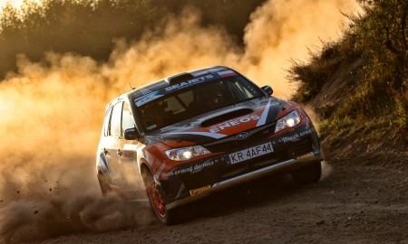 Marcin Słobodzian w Rallye Lausitz