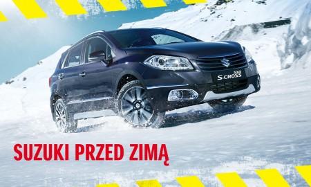 """Akcja serwisowa """"Suzuki przed zimą"""""""