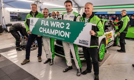 Jan Kopecký z tytułem w WRC 2