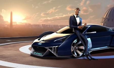 Audi RSQ e-tron - Wirtualny samochód koncepcyjny dla agenta Sterlinga