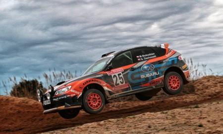 Marcin Słobodzian piąty na Lausitz Rallye