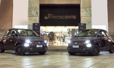 Fiat 500 Collezione na mediolańskim wybiegu