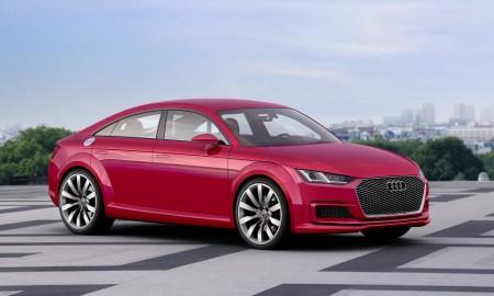 Audi TT jako czterodrzwiowe coupe?