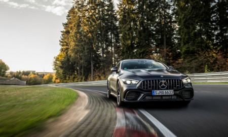 Mercedes-AMG GT 63 S 4MATIC+ z rekordem na Nürburgringu