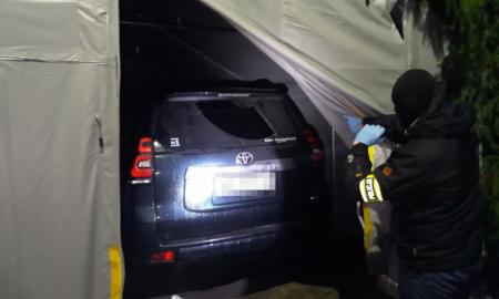 Odzyskana Toyota warta 300 tys. zł.