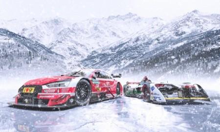 Audi na lodowym wyścigu GP Ice Race w Austrii
