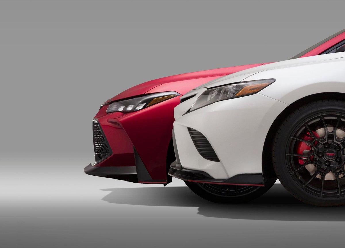 Toyota Camry i Avalon w wersji TRD